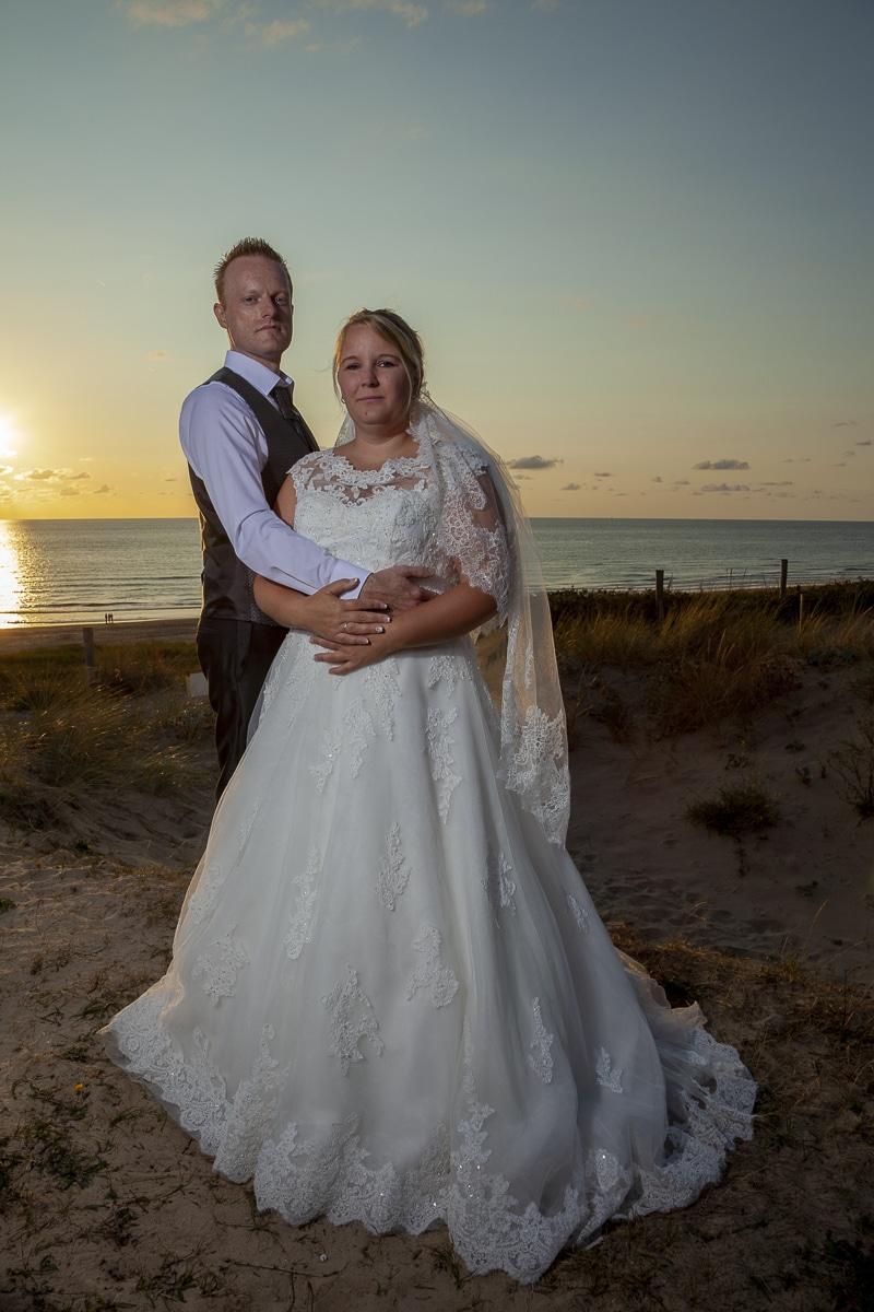 Bruidsfoto's Mela en Joerg