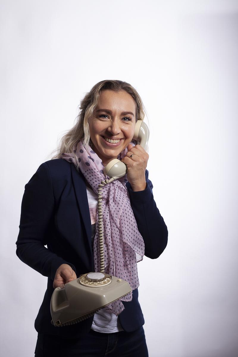 Bedrijfsportret voor Overwegend Notariaat Receptioniste Laura