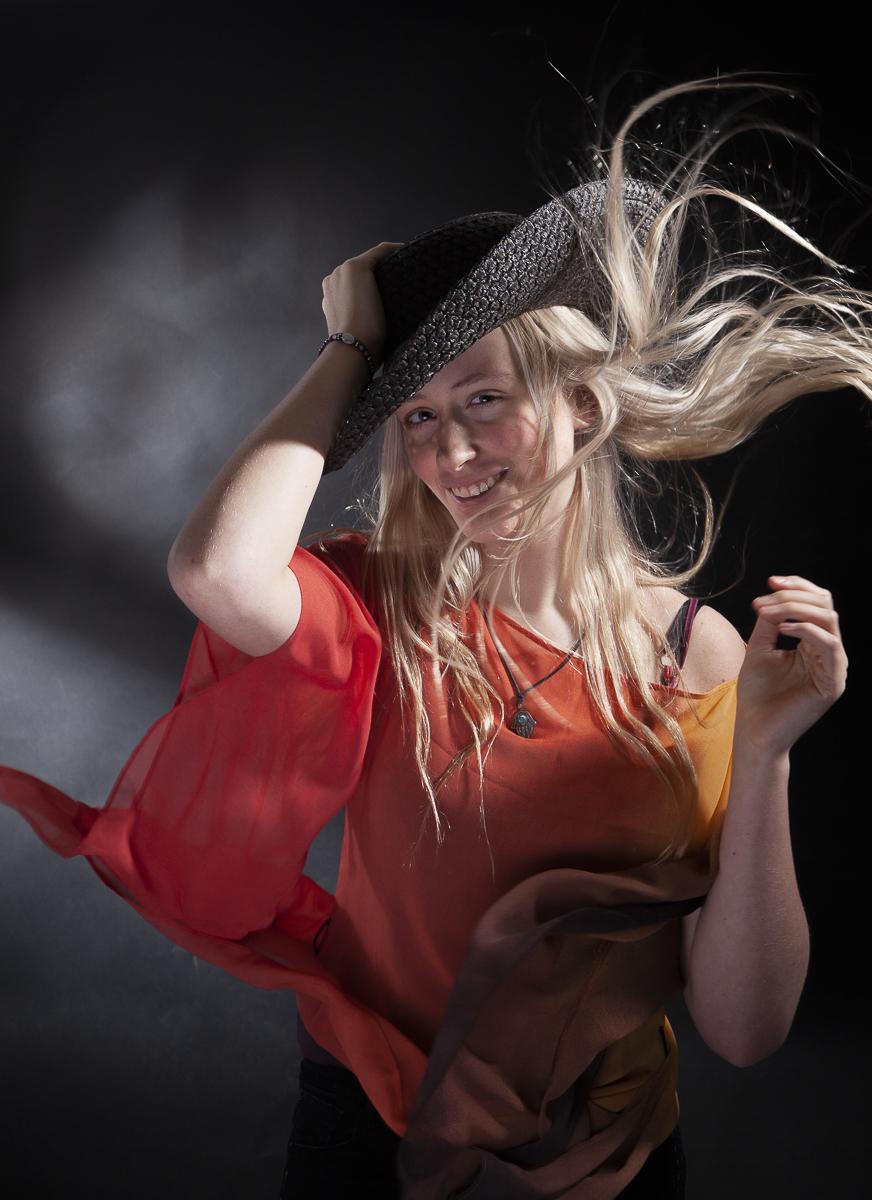Romy fashionshoot wind