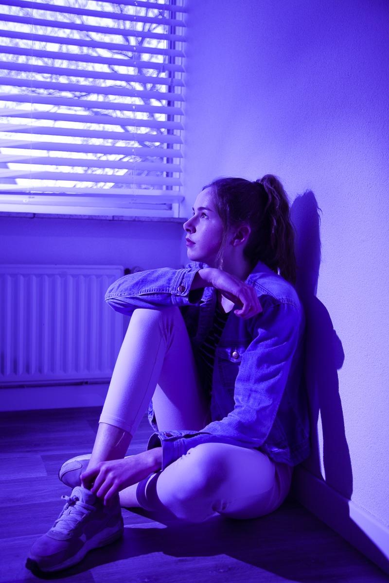 Noor in Blue