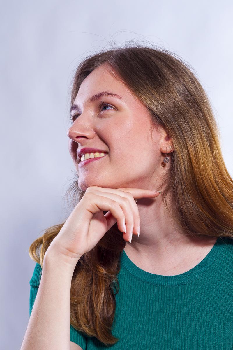 Dana Portfolio Photoshoot Headshot
