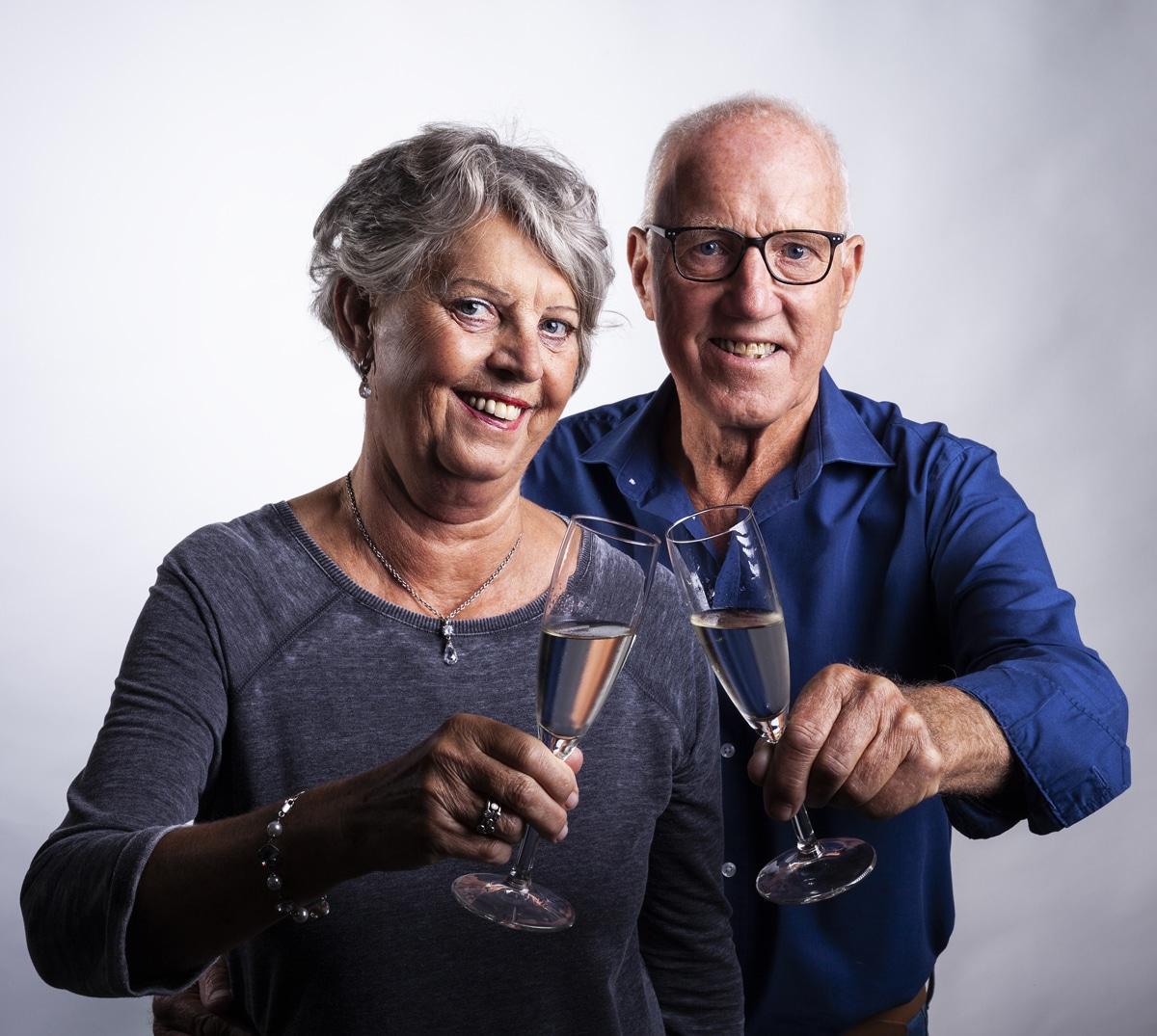Photoshoot voor speciale gelegenheden 50 jarig huwelijk
