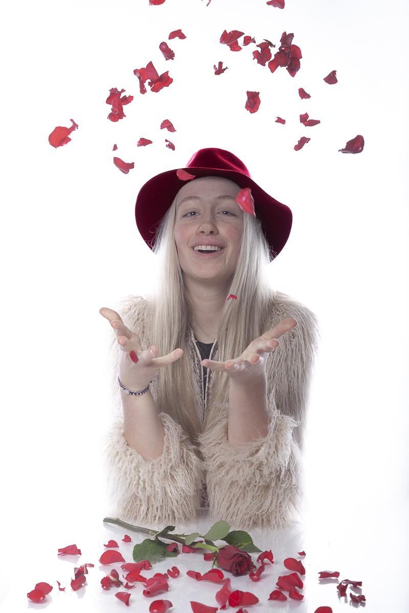 Romy viert Valentijnsdag