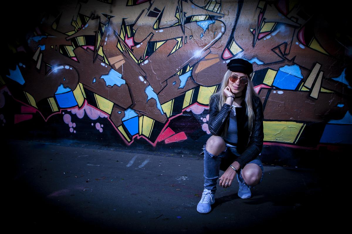 Romy graffiti-photshoot Heerhugowaard Skatepark